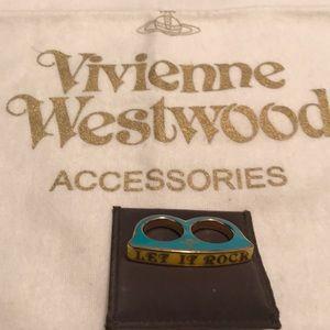 Vivienne Westwood Let it Rock 2-finger ring